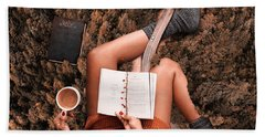 Lose Yourself In A Good Book Beach Towel