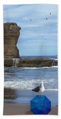 Lost And Found Beach Towel by Diane Schuster