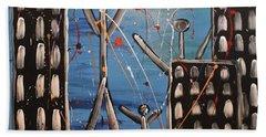 Lost Cities 13-003 Beach Towel by Mario Perron