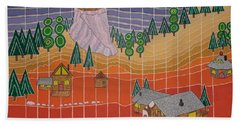 Lost Creek Lodge With Sun Temple Beach Towel