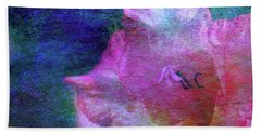Lost Gladiolus Blossom 3018 L_2 Beach Towel
