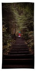 Lost In Nature Beach Towel