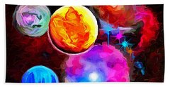 Lost In Space - Nebula 3 Beach Towel