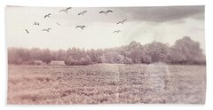 Lost In The Fields Of Time Beach Towel