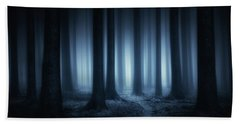 Lost In The Forest Beach Towel