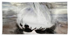 Beach Towel featuring the photograph Lost In Thought by Pennie  McCracken