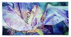 Lost Iris Passion 93 L_2 Beach Towel