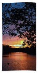 Lost Sunset Beach Sheet by J R Seymour