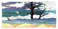 Lost Swan Beach Towel