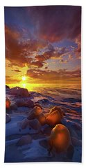 Beach Towel featuring the photograph Lost Titles, Forgotten Rhymes by Phil Koch