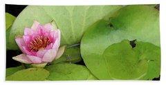 Lotus Blossom Beach Sheet