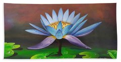 Lotus Blossom Beach Towel