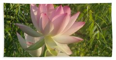 Lotus Flower Beach Sheet
