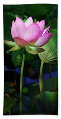 Lotus Flower Beach Sheet