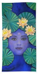 Lotus Nature Beach Towel