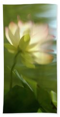 Lotus Reflection Beach Sheet