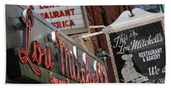 Lou Mitchells Restaurant And Bakery Chicago Beach Towel