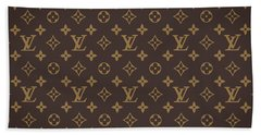 Louis Vuitton Texture Beach Towel