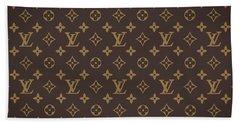 Louis Vuitton Texture Beach Towel