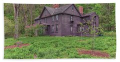 Louisa May Alcotts Orchard House Concord Massachusetts Beach Sheet