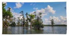 Louisiana Bayou Beach Towel