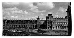 Louvre Museum Beach Towel