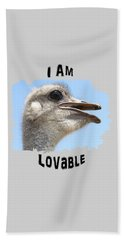Lovable Beach Towel