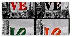 Beach Sheet featuring the photograph Love 4 All by DJ Florek