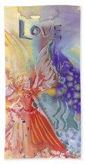 Love Angel Beach Sheet