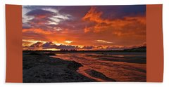 Love At First Light Beach Towel
