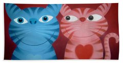 Love Catz Beach Towel