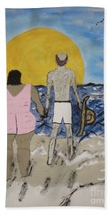 Love Comes In All Sizes Beach Towel