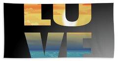 Love Door County Beach Sheet