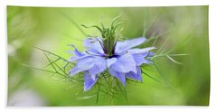 Love-in-a-mist Beach Towel
