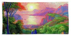 Love Is Sharing The Journey Beach Towel