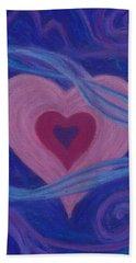 Love Ribbons Beach Sheet
