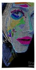 Beach Towel featuring the digital art Love The Way You Look by Rafael Salazar