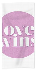 Love Wins Beach Towel