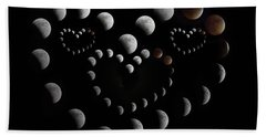 Love You To The Moon And Back Beach Towel