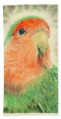 Lovebird Pilaf Beach Towel