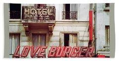 Loveburger Hotel Beach Sheet