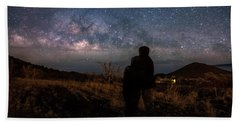 Loveing The  Universe Beach Towel