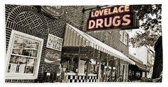 Lovelace Drugs Beach Sheet