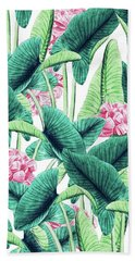 Lovely Botanical Beach Towel
