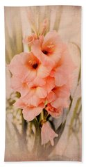 Lovely Gladiolus Beach Sheet