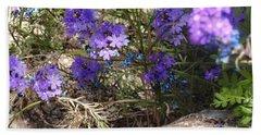 Lovely Lavender Beach Sheet