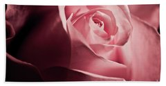 Beach Towel featuring the photograph Lovely Pink Rose by Micah May