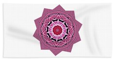 Loving Rose Mandala By Kaye Menner Beach Sheet