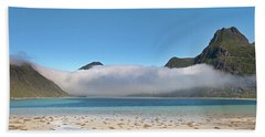 Low Clouds Above Boosen Beach Towel