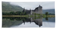Low Mist At Kilchurn Beach Towel
